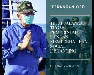 Read more about the article Bupati Natuna Tekankan OPD Tetap Jalankan Tugas Pemerintahan