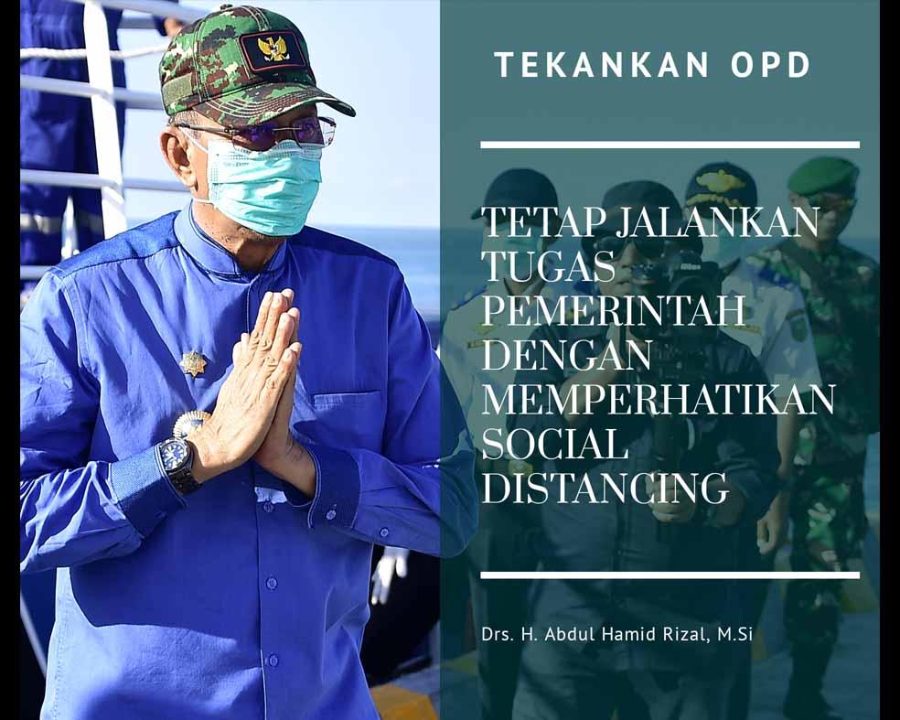 You are currently viewing Bupati Natuna Tekankan OPD Tetap Jalankan Tugas Pemerintahan