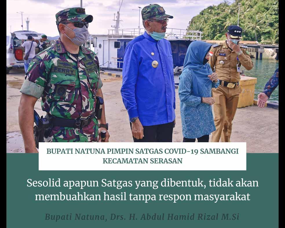 You are currently viewing Upaya Cegah Penyebaran Corona, Bupati Natuna Pimpin Satgas Covid – 19