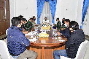 Bupati Natuna Pimpin Rapat Tim Gugus Tugas Covid-19