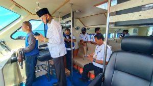 Read more about the article Bupati Natuna Tinjau Kapal Rujukan Untuk Penanganan Covid-19