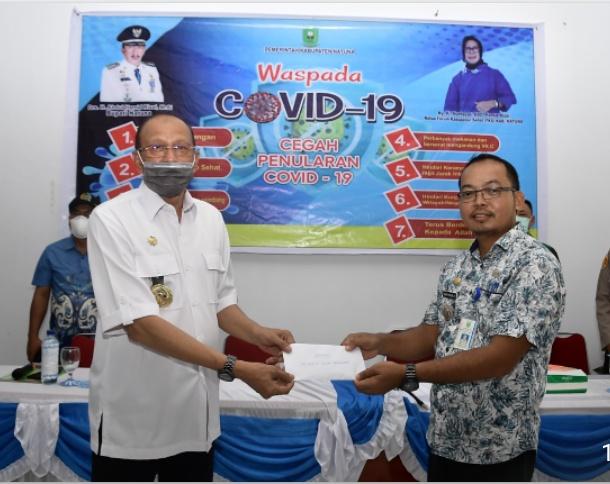 Bupati Natuna Kunjugi Kecamatan Bunguran Batubi Soal Covid 19