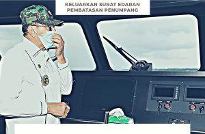 Bupati Natuna Keluarkan Surat Edaran Pembatasan Penumpang Moda Transportasi Laut dan Udara