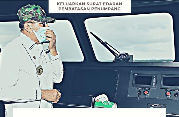You are currently viewing Bupati Natuna Keluarkan Surat Edaran Pembatasan Penumpang Moda Transportasi Laut dan Udara
