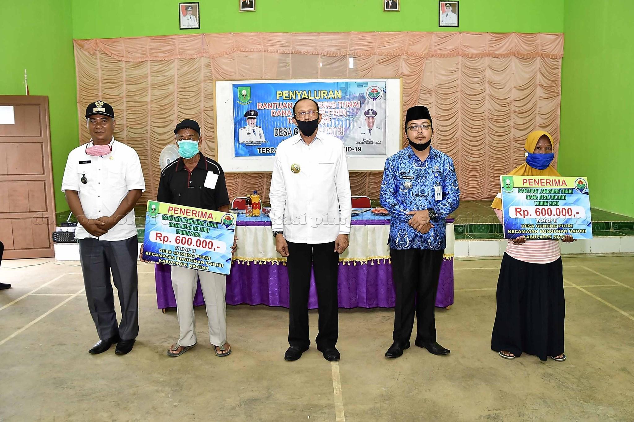 You are currently viewing Bupati Natuna Sosialisasikan New Normal Bagi Warga Bunguran Batubi