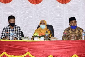 Wakil Bupati Natuna Sosialisasi New Normal di Tanjung Pala Kecamatan Pulau Laut