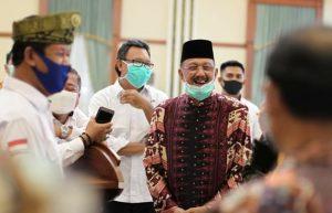 Jemput Bantuan di Provinsi, Hamid Rizal : Kami Bertekad Pertahankan Status Zona Hijau untuk Natuna