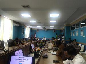 Rakor Persiapan Pelaksanaan Vaksinisasi Covid-19 di Natuna