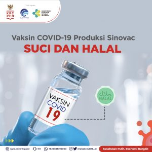 Read more about the article Vaksin COVID-19 Produksi Sinovac Suci dan Halal