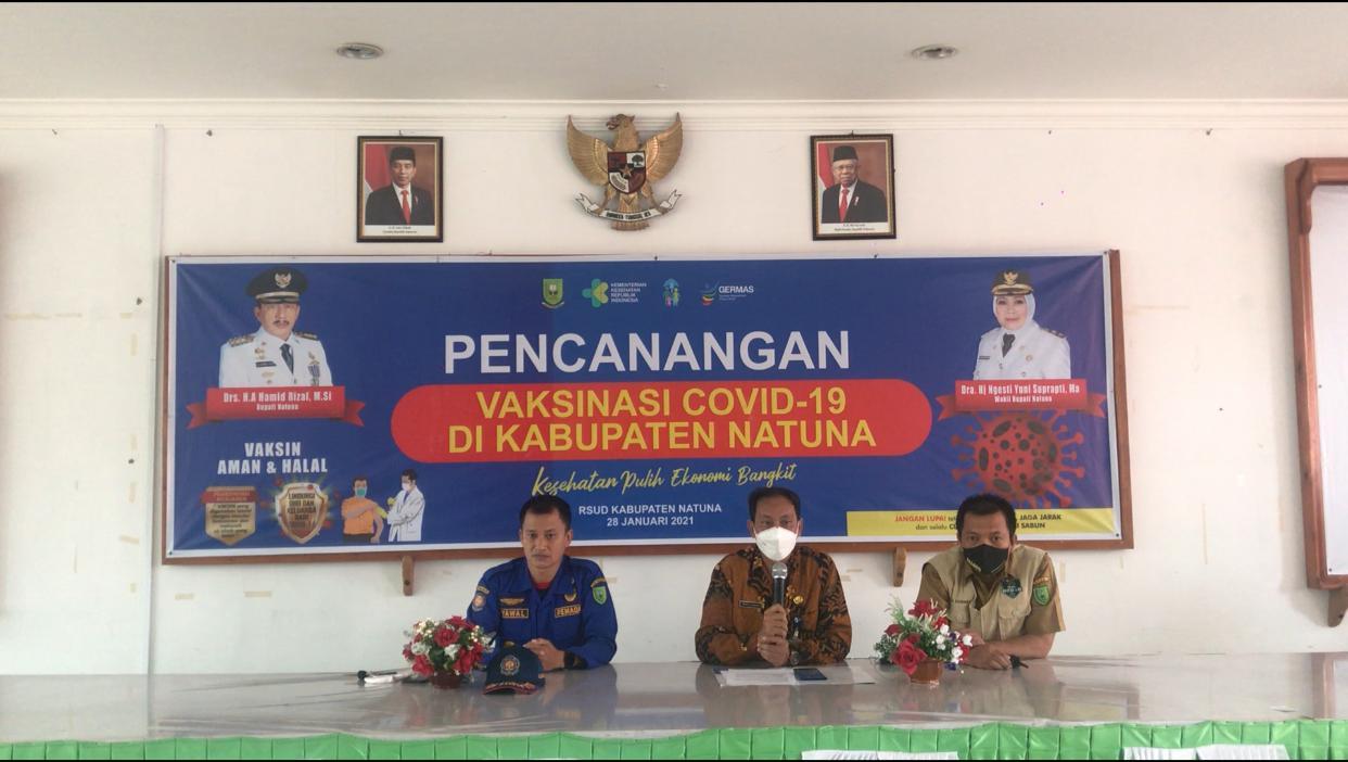 You are currently viewing Pencanangan Vaksinisasi Dosis Pertama di Natuna Telah Selesai